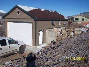 garage builder summit county, colorado